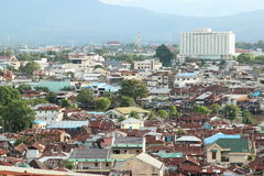 View on Manado Stock Image