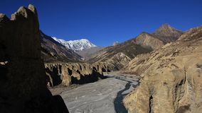 View from Manang Stock Photography