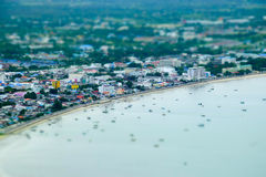 View of Manao Ao in Prachuap Khiri Khan Stock Photography