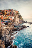 View of Manarola Royalty Free Stock Images