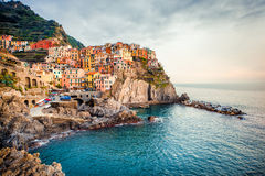 View of Manarola Stock Image