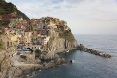 View of Manarola, La Spezia Royalty Free Stock Images