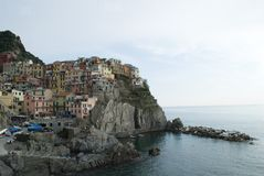 View of Manarola Royalty Free Stock Photo
