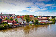 View From Manesuv Bridge In Prague Royalty Free Stock Images