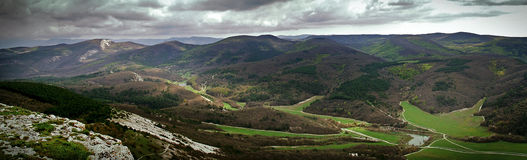 View from Mangup Kale Stock Photography