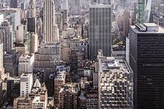 View of Manhattan Stock Photo