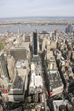 View of Manhattan. NYC from above Stock Photo