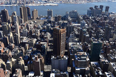 View of Manhattan from Empire State Building Stock Photography