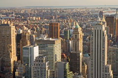 View of Manhattan from The Empire State Building Royalty Free Stock Photo