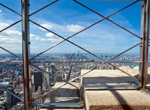 View of Manhattan from the Empire State Building Royalty Free Stock Images