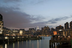 View of Manhattan from Long Island City Stock Photo