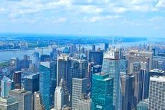 View of Manhattan, New York City Royalty Free Stock Photo