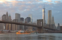 View of Manhattan, New York City Royalty Free Stock Images