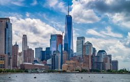 View of Manhattan, New York City Royalty Free Stock Photography