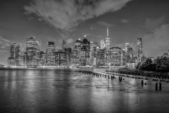 View of Manhattan in New York City Royalty Free Stock Image