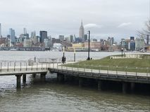 View of Manhattan in New York Stock Photography