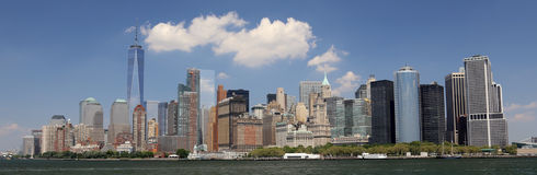 view of manhattan Royalty Free Stock Image