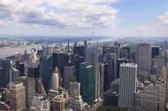 View of Manhattan from the top Royalty Free Stock Images