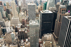 View of Manhattan Stock Photography