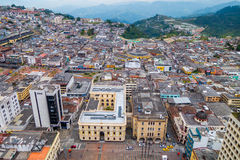 View of Manizales city in Colombia royalty free stock image