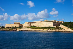 View of  Manoel  fort. From sea side. Malta Stock Photos