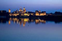 View of mantova in Italy. The view of mantova city Royalty Free Stock Photos