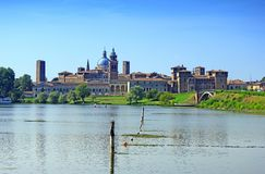 View on Mantua Stock Photography