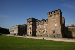 View of Mantua castle, Italy Stock Image