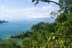 View of Manuel Antonio, Costa Rica. Landscape inspiration, parque national, Manuel Antonio, Costa Rica stock image