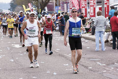 View of Many Comrades Ultra Marathon Runners Royalty Free Stock Image