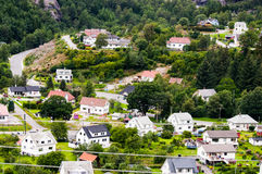 View of many houses Royalty Free Stock Photography
