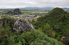 The Marble mountains, Da Nang, Vietnam Stock Images