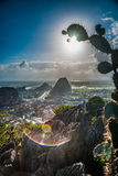 View from the Marble mountains Stock Images