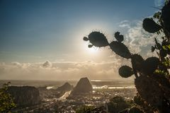 View from the Marble mountains Royalty Free Stock Image