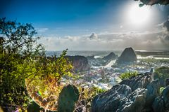 View from the Marble mountains Royalty Free Stock Photo