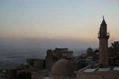 View from mardin, turkey Royalty Free Stock Images