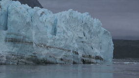 View of Margerie Glacier at Glacier Bay National Park stock video footage