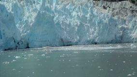 View of Margerie Glacier at Glacier Bay National Park, Alaska. USA stock video