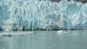 View of Margerie Glacier at Glacier Bay National Park, Alaska. USA stock video footage