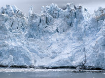View of Margerie Glacier at Glacier Bay National Park, Alaska royalty free stock photography