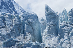 View of Margerie Glacier at Glacier Bay National Park, Alaska stock image