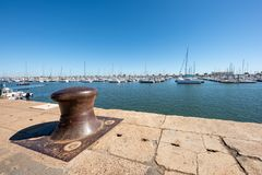 Arcachon, France, the marina. View of the marina of Arcachon Stock Photography
