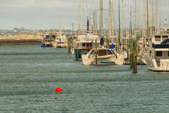 View of marina, Auckland, New Zealand. View of marina, Gulf Harbour, Auckland, New Zealand, photo took in New Zealand, photo is usable on picture post card Stock Photography