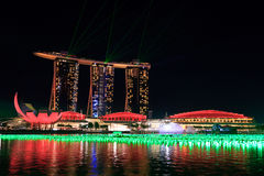 Marina Bay Sands Singapore Stock Photo