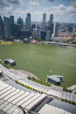 View from Marina Bay Royalty Free Stock Images