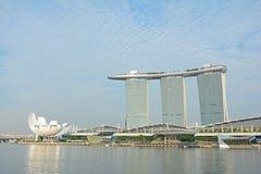 View of Marina Bay Sands Stock Photos