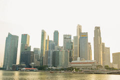 View of Marina Bay Sands Stock Images