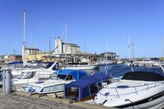 View of the marina Royalty Free Stock Photos