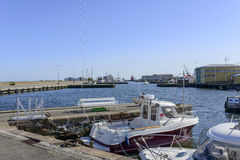 View of the marina Royalty Free Stock Photography
