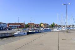 View of the marina Royalty Free Stock Photo